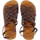 Braided Leather Flip Flop