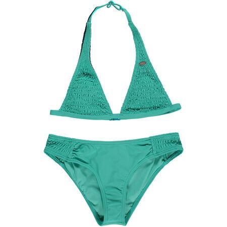 Smocked Halter Bikini