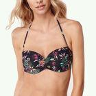 Molded Wire Bandeau Bikini Top