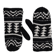 Retro Knitted Mittens