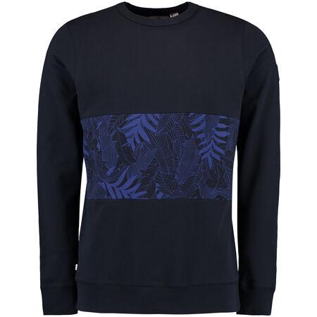 Pattern Block Sweatshirt