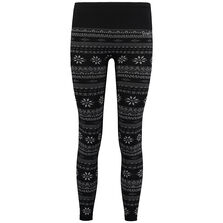 Base Layer Jacquard Legging