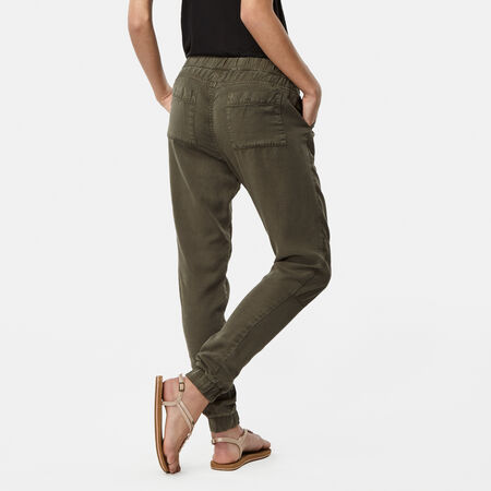 Stretch Waist Cargo Pants