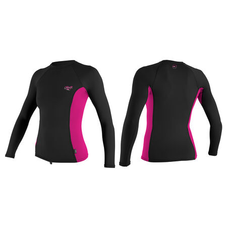 Premium skins long sleeve rash guard womens