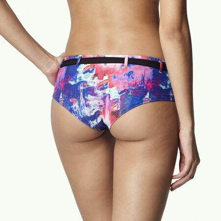 M&M Printed Boyshort Bikini Bottom