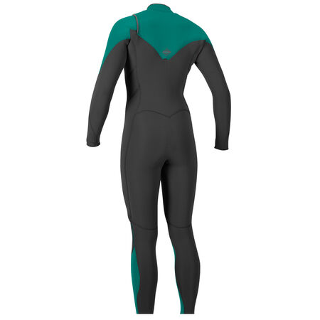 Hyperfreak 4/3mm chest zip full wetsuit womens