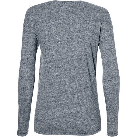 Scooped Hem Longsleeve T-Shirt