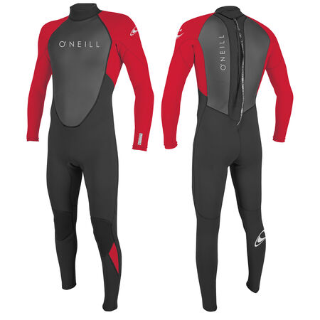 Reactor ii 3/2mm back zip full wetsuit youth