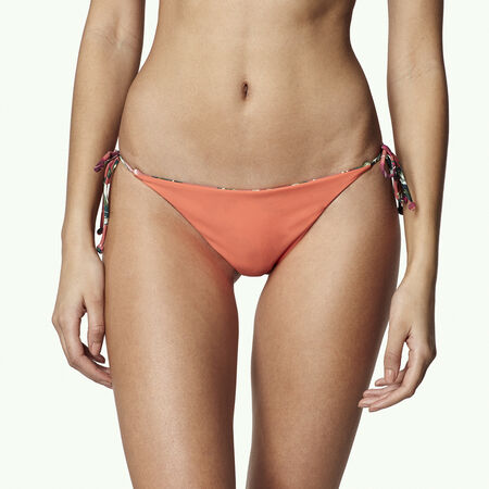 Reversible Tie Side Bikini Bottom