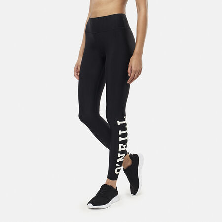 Print Logo Legging