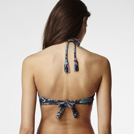 Paisley Molded Wire Bikini Top