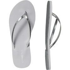 Metallic Strap Flip Flop
