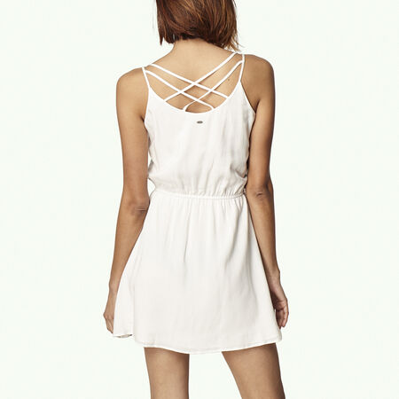 Crochet Back Detail Dress