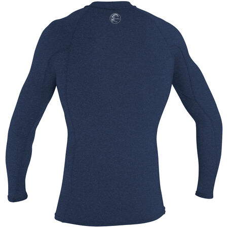 Hybrid long sleeve crew