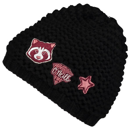 Girls Badge Beanie