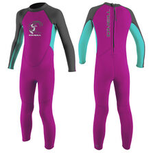 Reactor 2mm full wetsuit toddler girls