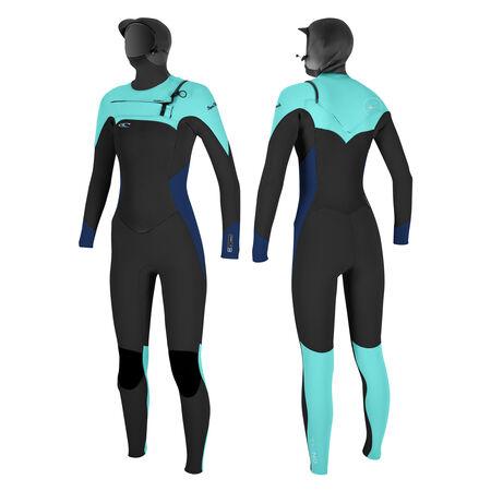 Superfreak™ 6/4mm hooded full wetsuit womens
