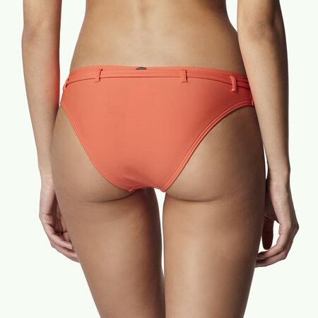 Print Belted Bikini Bottom