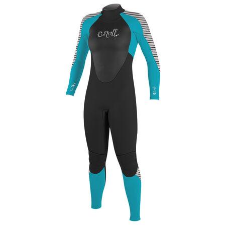 Epic 5/4mm back zip full wetsuit womens
