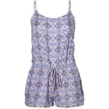 Beach Print Playsuit