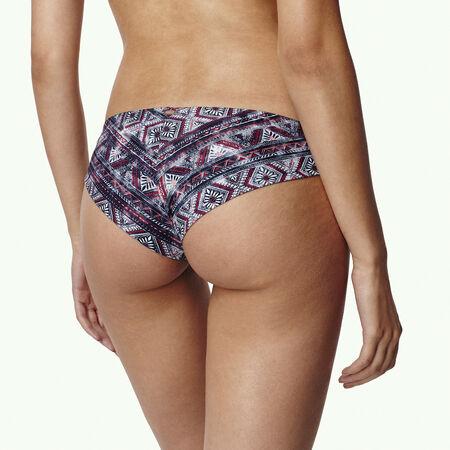 Print Hipster Cheeky Bikini Bottom