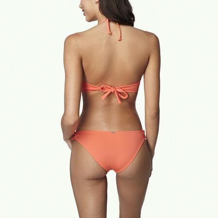 Solid Wire Bandeau Bikini