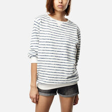 Essentials Stripe Crew Sweatshirt