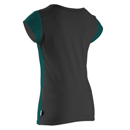 Solid cap sleeve womens
