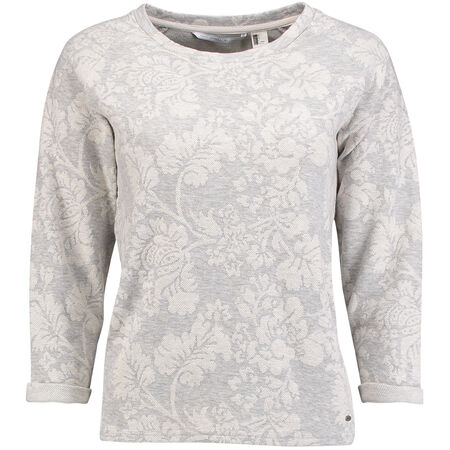 Floral Crew Sweatshirt
