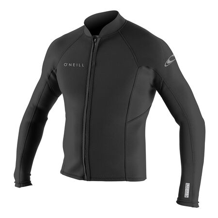 Reactor ii 2mm front zip long slv neoprene jacket