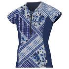 Skins front-zip cap sleeve sun shirt womens