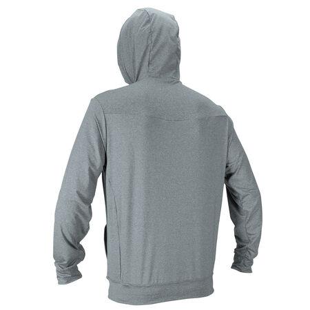 Hybrid skins zip hoody