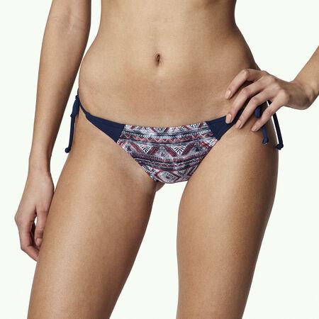 Print Tie Side Bikini Bottom