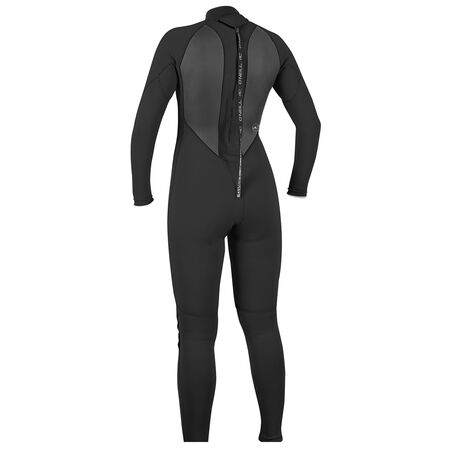 Reactor ii 3/2mm back zip full wetsuit womens