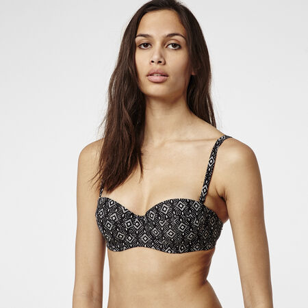 Paisley Balconette Bikini Top