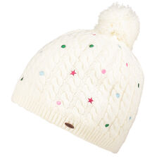 Girls Star Dot Beanie