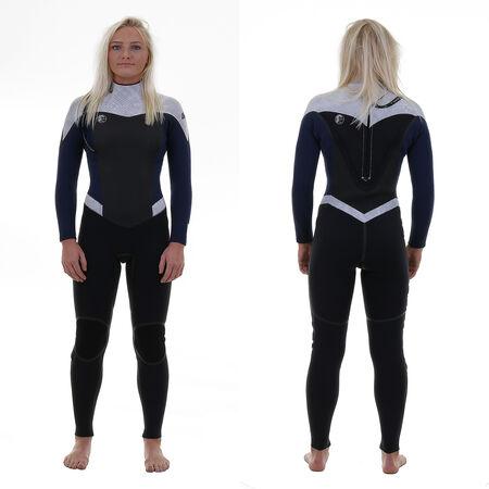 Flair zen zip 5/4mm full wetsuit wm