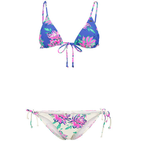 Contrast Print Bikini