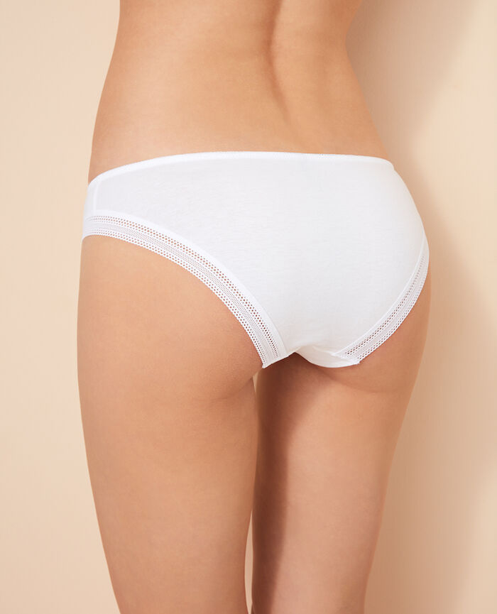 Hipster briefs White Coton