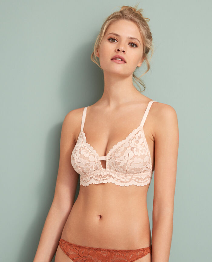 Soft cup bra Glace rose Angelina