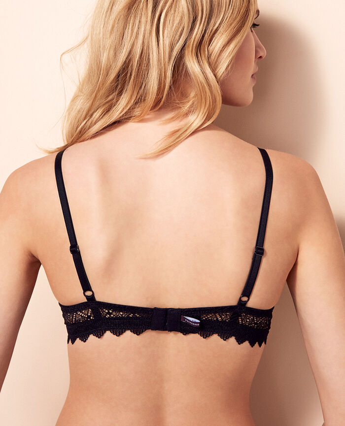 Soft cup bra Black Insolente