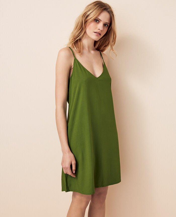 Short nightie Philo green Sochi