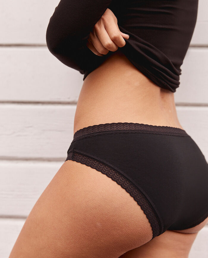 Hipster briefs Black Basics