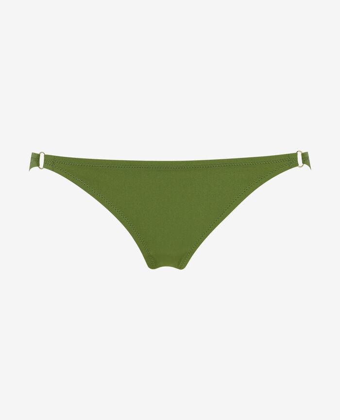 Culotte de bain échancrée Vert philo Numa