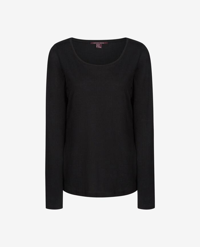 DEMY Noir T-shirt manches longues