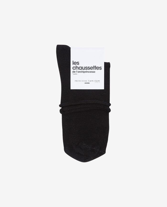 Socken Schwarz PEARL