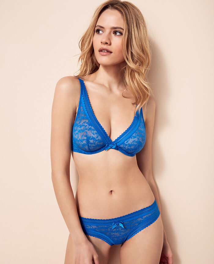 Brazilian briefs Samba blue Bella