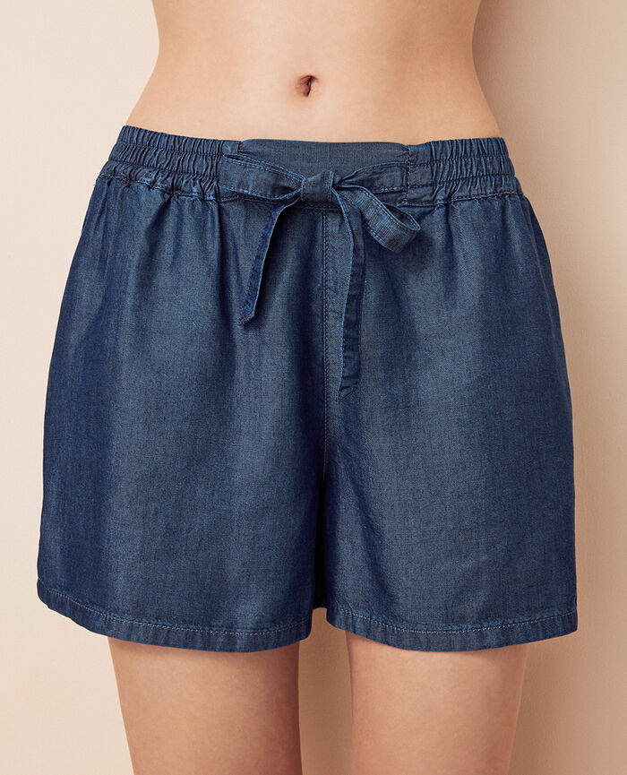 Boxer short Bleu denim Easy
