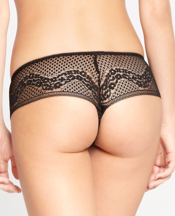 VERTIGE Black Brazilian briefs