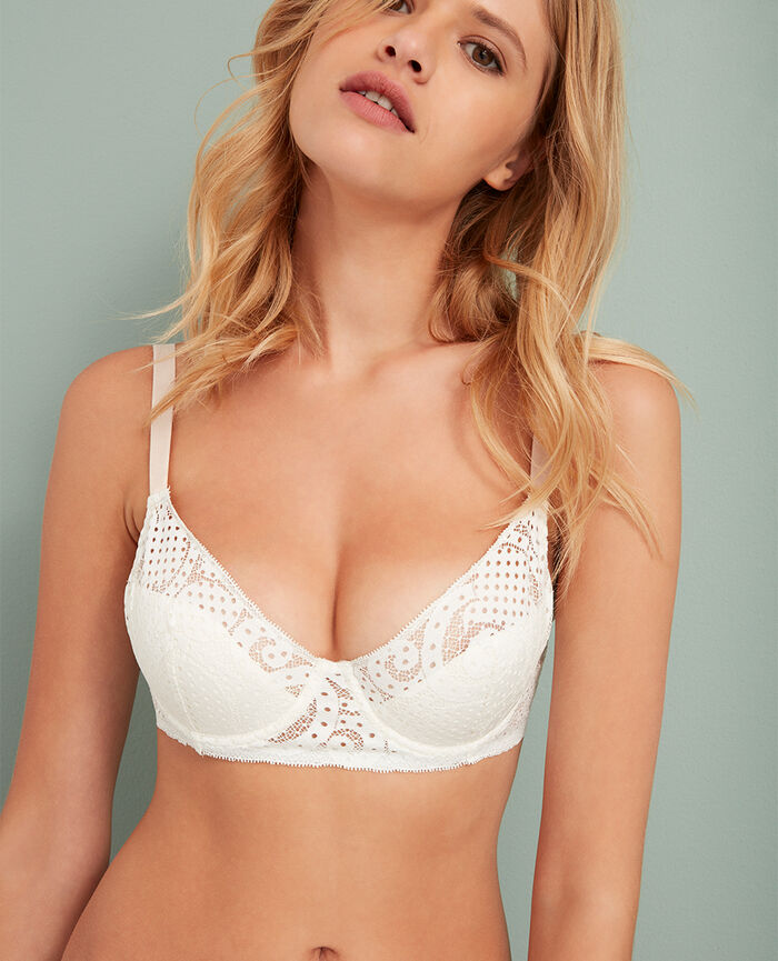 Demi push-up bra Ivory Metropolitan